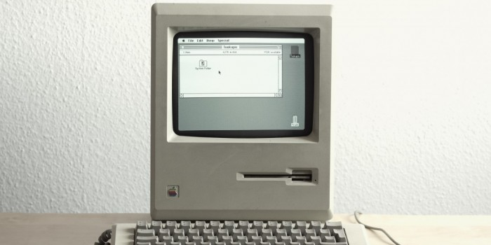 old vintage mac computer e-waste electronics recycling