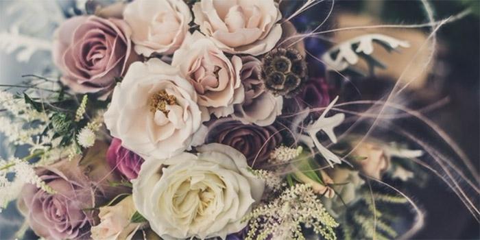 bridal bouquet flowers green wedding