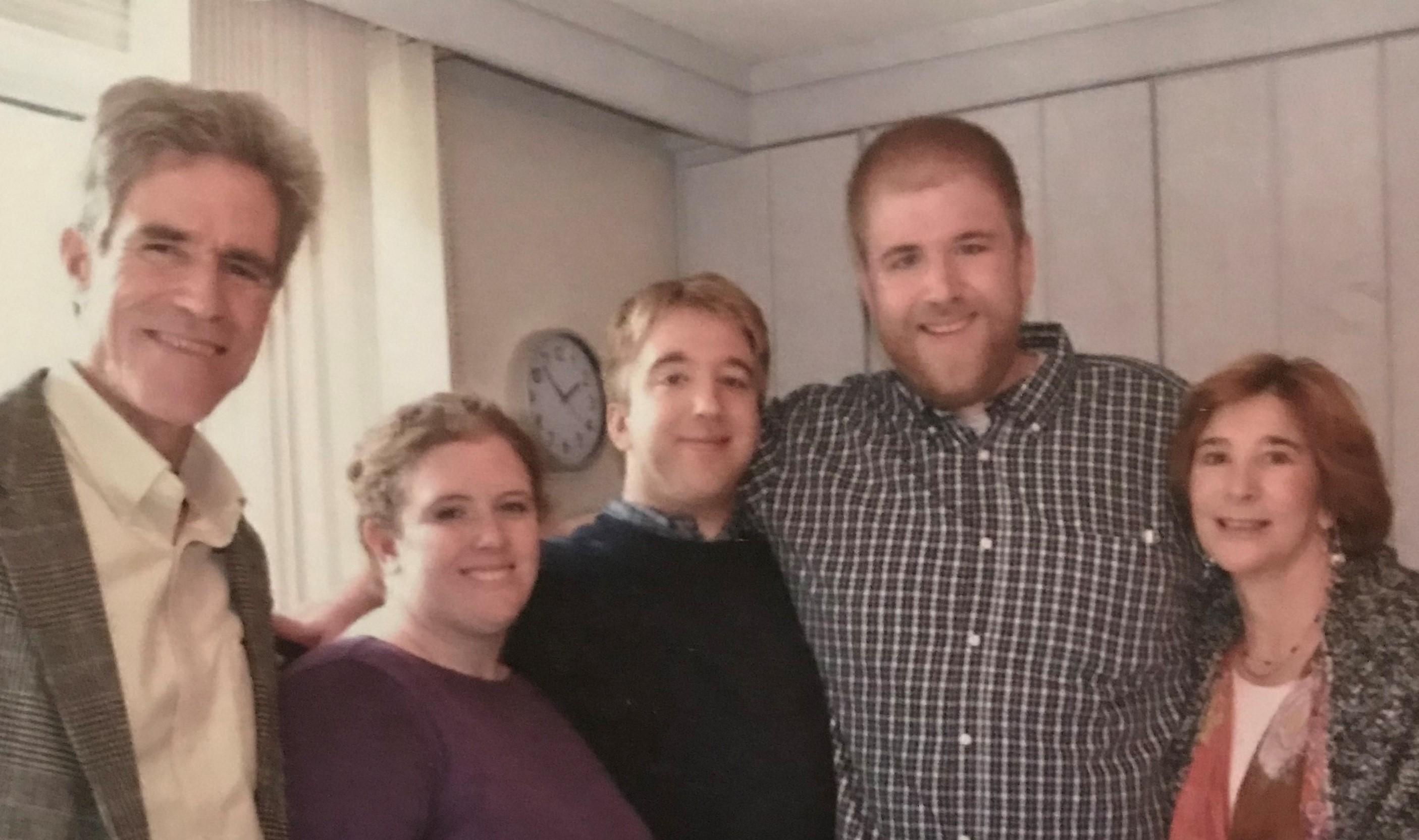Rob Gogan and family
