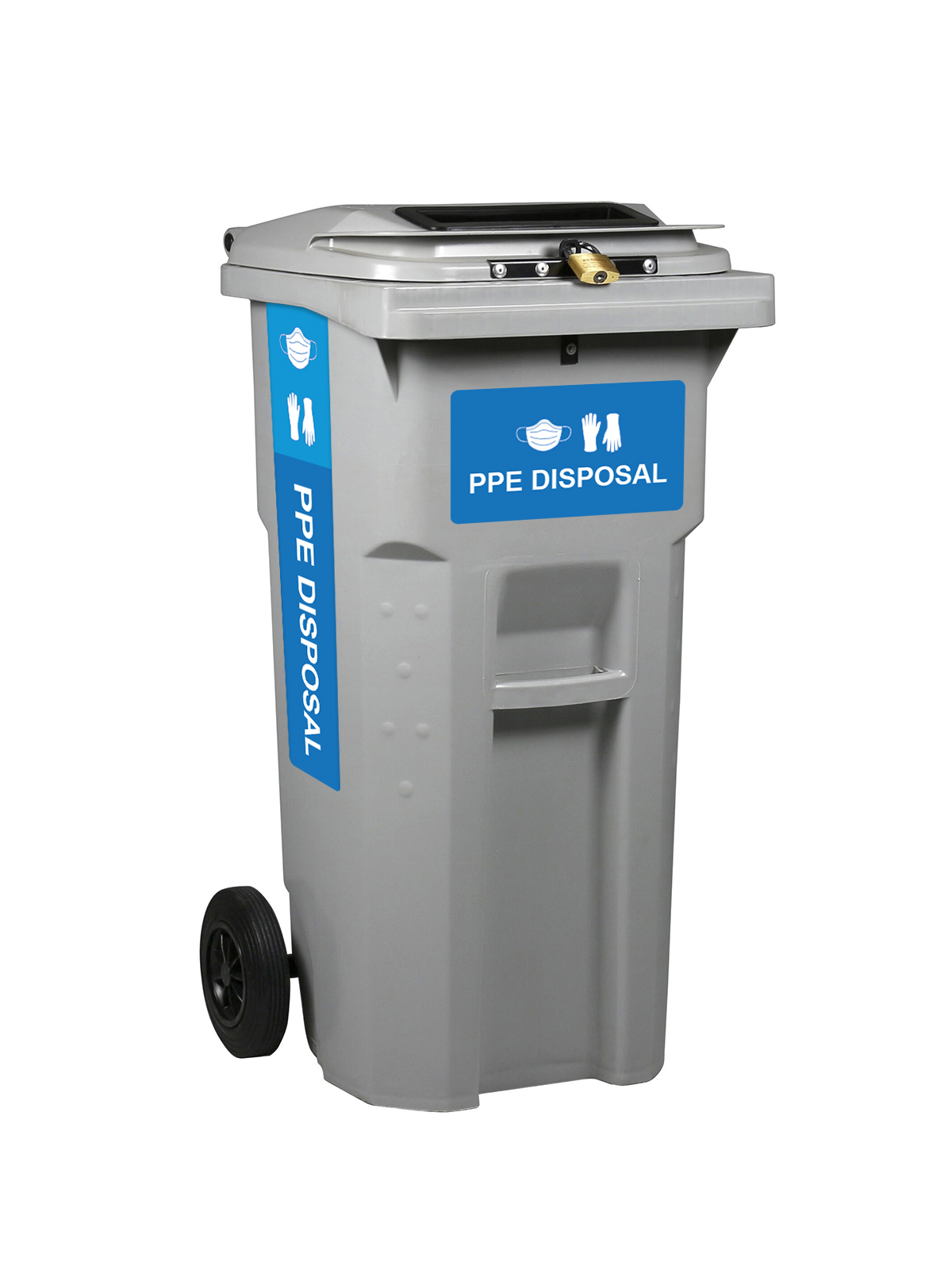 PPE Disposal Cart